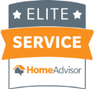 Elite Service Home Advisor badge